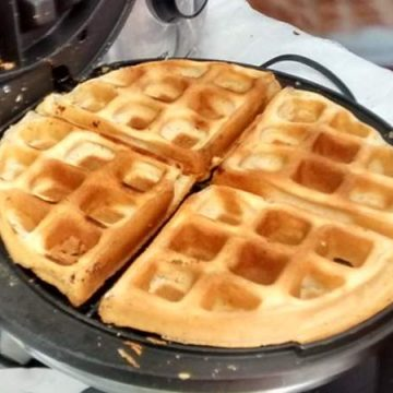 Waffle sem Glúten