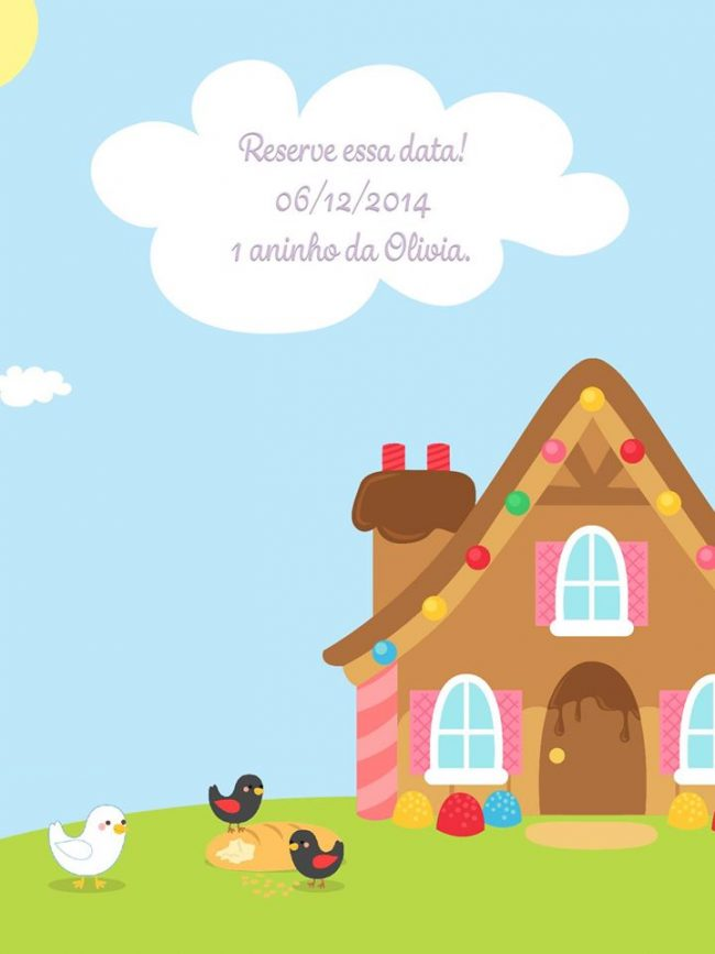 Festa Infantil: João e Maria