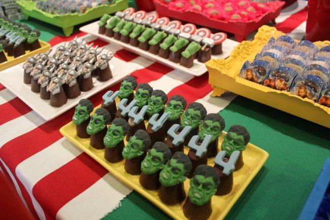 Festa Infantil: Vingadores