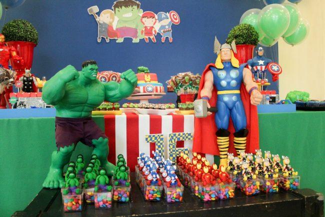 Festa Infantil: Vingadores(1)