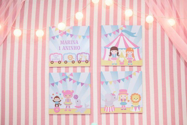 Festa Infantil: Circo Fofo Menina