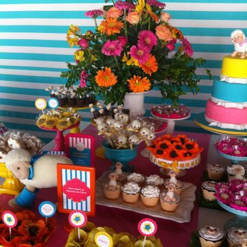 Festa Infantil: Batizado Super Colorido