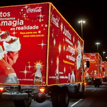 Caravana de Natal Coca Cola Rio de Janeiro 2015