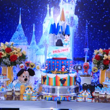 Festa Infantil: Castelo do Mickey