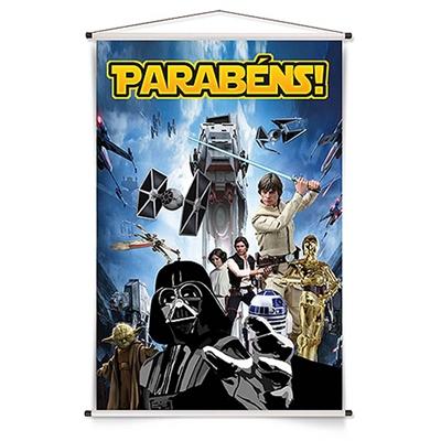 Banner Vertical Festa Star Wars