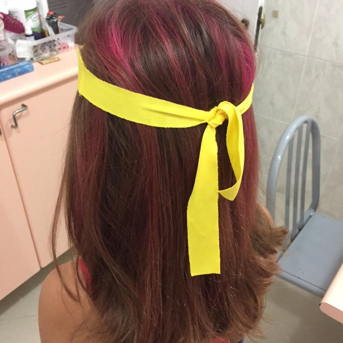 Carnaval: Glitter (purpurina) no cabelo