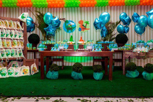 Festa Infantil: Festa Dinossauro Baby do Raul
