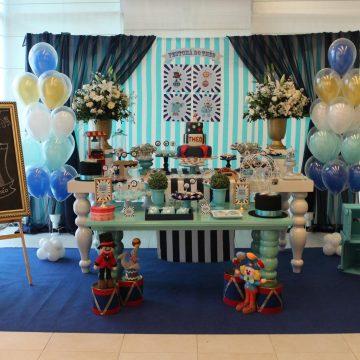 Festa Infantil: Circo Baby do Théo (Chá de Bebê)