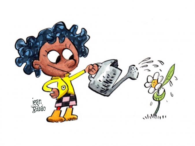 Meu filho virou Cartoon