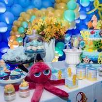 Festa Infantil: Fundo do Mar