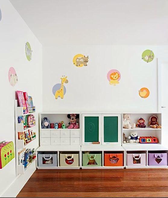 Ideias criativas e baratas para organizar os brinquedos