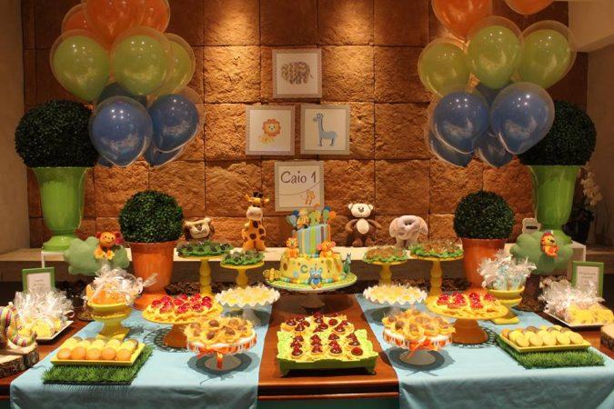 Festa Infantil: 1 ano do Caio e seus Bichinhos!