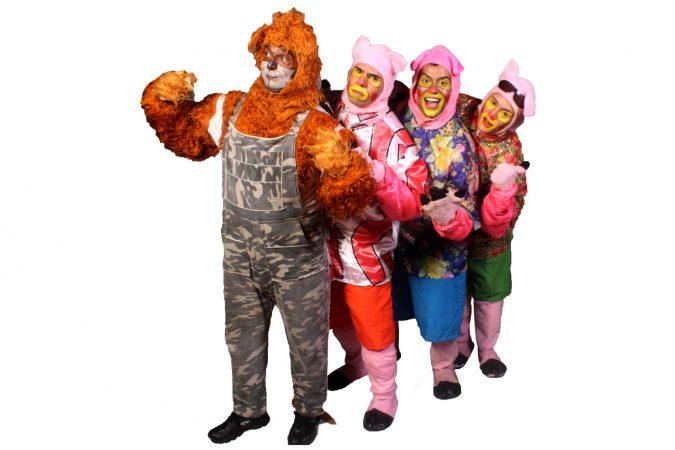 Teatro Infantil: Os Três Porquinhos