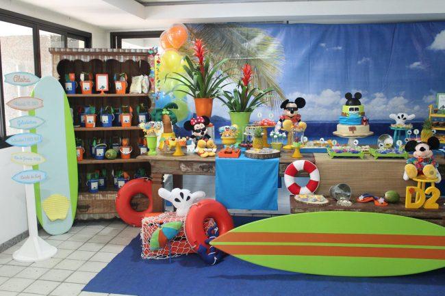 Festa Infantil: Mickey Surfista