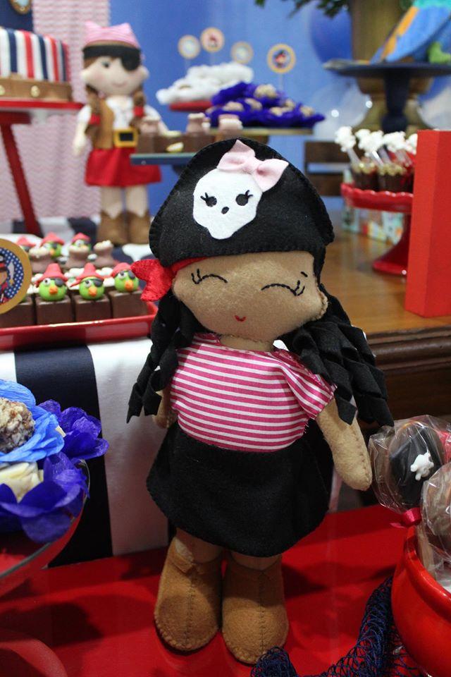 Festa Infantil: Piratinha Menina