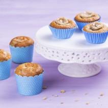 Receita: Cupcake de banana com Aveia