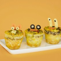 Receita: Muffin Omelete