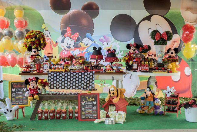 Festa Infantil: Mundo do Mickey