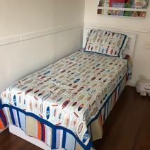 Comprando roupa de cama na internet