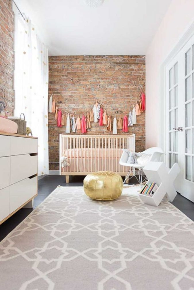 Decoração: Parede de tijolo nos quartos