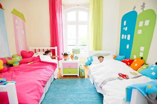 Decorando o quarto compartilhado entre Meninos e Meninas
