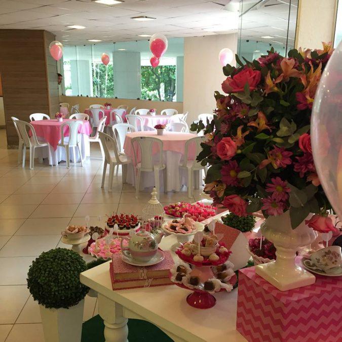 Festa Infantil: Chá da tarde