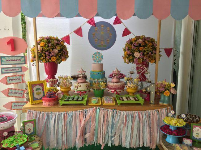 Festa Infantil: Parque de Diversão