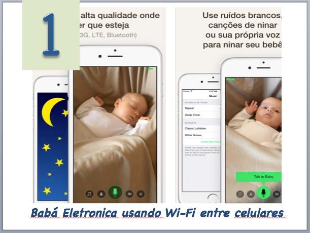 Aplicativo para babá eletrônica