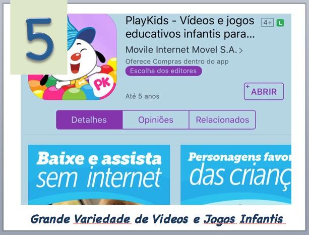 Aplicativo de Entretenimento para Crianças