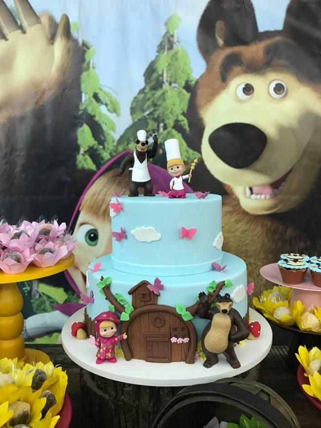 Festa Infantil: Masha e o Urso para Fernanda – Mini Mimos