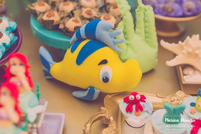 Festa Infantil: Pequena Sereia