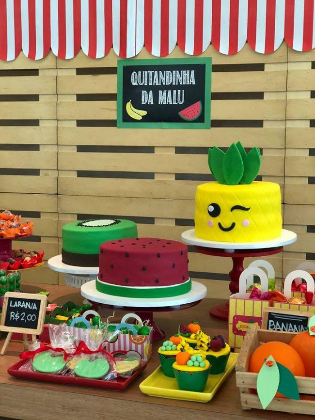 Festa Infantil: Quitandinha da Malu