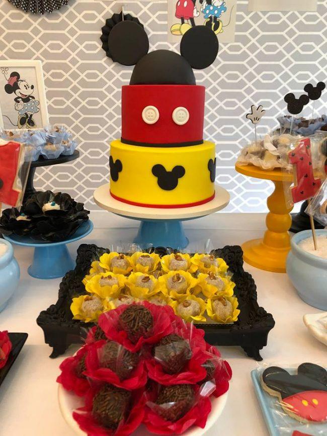 Festa Infantil: 1 aninho do Matheus! Mickey Vintage