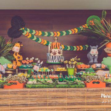 Festa Infantil: Safari do Gabriel