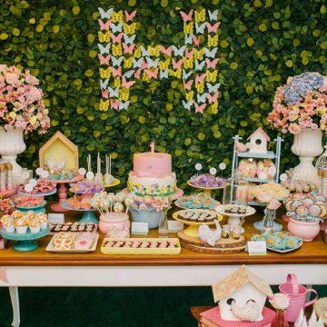 Festa Infantil: Jardim das Borboletas