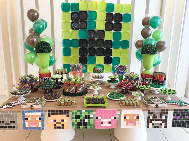 Festa Infantil: Minecraft