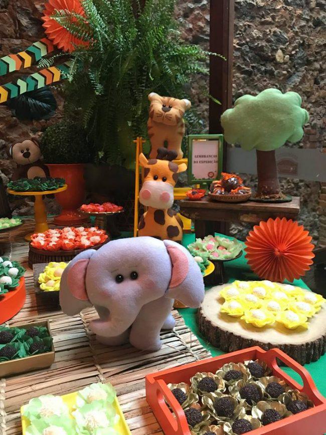 Festa Infantil: Chá de Bebê Safari